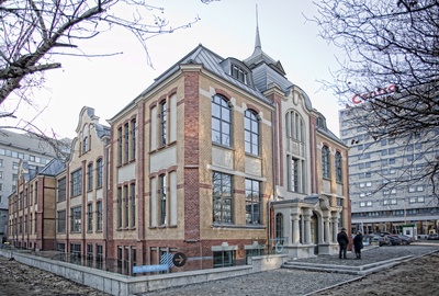 Concordia Design - restored Old Printing building
